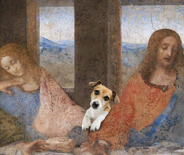 last-supper-last-supper-milan-with-a-dog