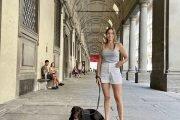 uffizi-gallery-florence-with-a-dog