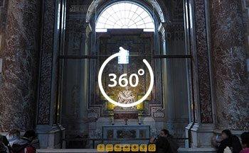saint-peter-basilica-rome-vatican-with-a-virtual-dog-michelangelo